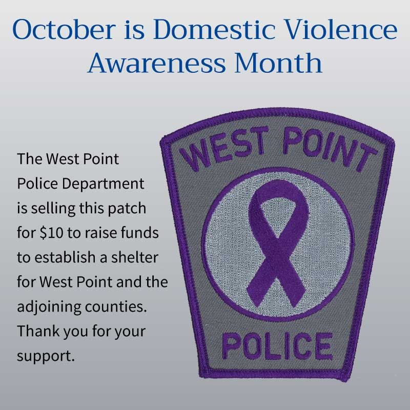 West Point Virginia stop domestic violence
